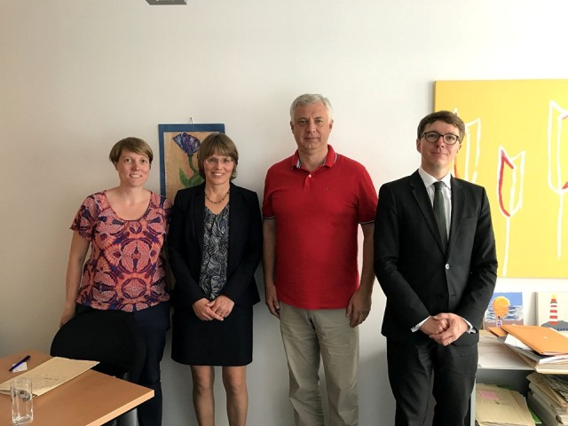 The Head of the NAQA visited Bavarian State Ministry for Education, Science and Arts in Munich