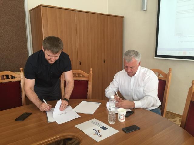 Підписання меморандуму про співпрацю між Національним агентством із забезпечення якості вищої освіти та Асоціацією ІТ України як результат співпраці в рамках проекту Erasmus+ EDUQAS