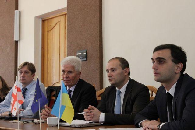 Зустріч членів Національного агентства та Секретаріату з грузинськими колегами